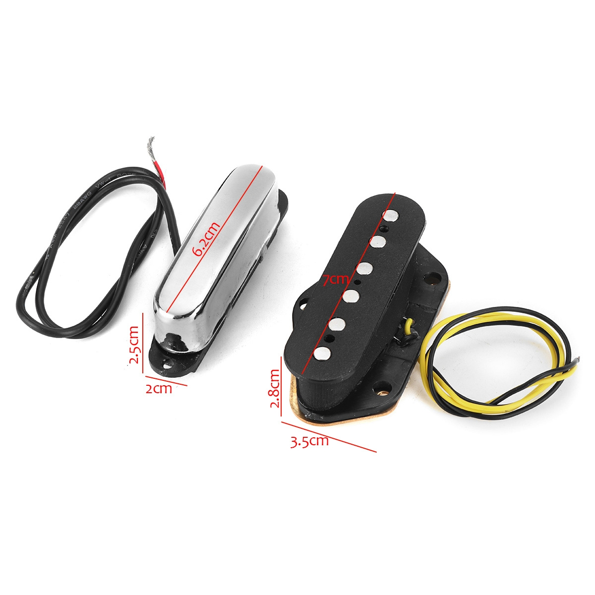 Electric Guitar Pickup Alnico 5 Single Coil Musical Instrument Accessories
