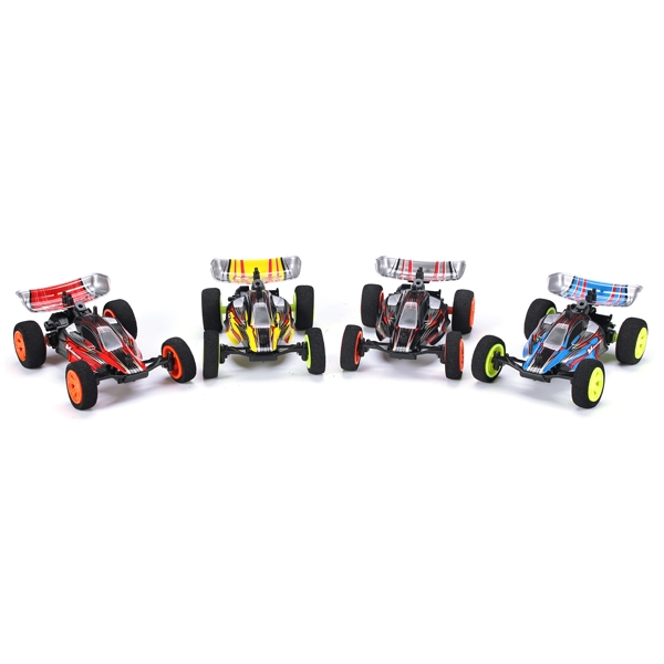 4pcs Velocis 1/32 2.4G RC Racing Car Mutiplayer in Parallel Operate USB Charging Edition Indoor Toy