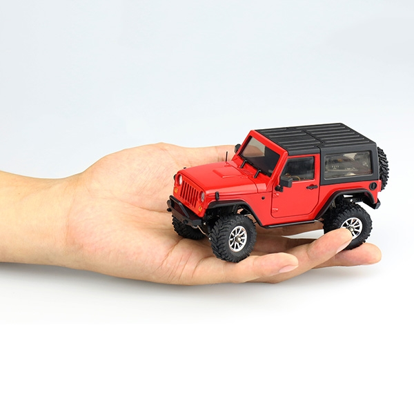 Orlandoo OH35A01 Kit Hunter 1/35 DIY Jeep Rubicon Micro Crawler without Electric Part not Color