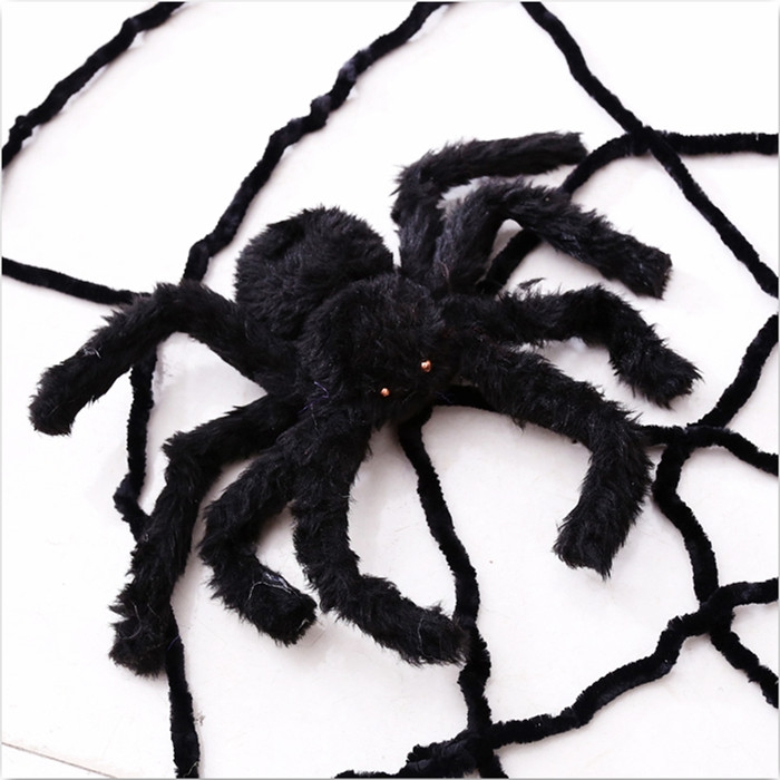 Spider Halloween Prop Spider Indoor Outdoor Parties Bar DIY Decorations 30CM
