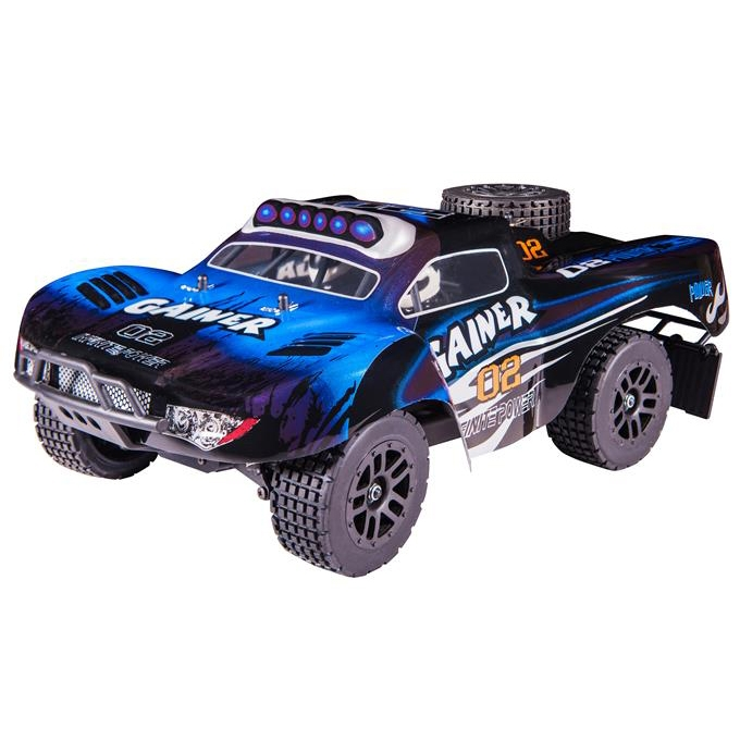 HT 1/16 Full Proportional 2.4GHz 4CH RC High Speed Truck Car RTR 4WD