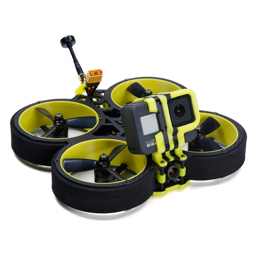 IFlight BumbleBee 142mm 3 Inch 4S CineWhoop FPV Racing Drone PNP/BNF Caddx Ratel Cam SucceX-E F4 FC 40A Blheli_32 ESC 500mW VTX
