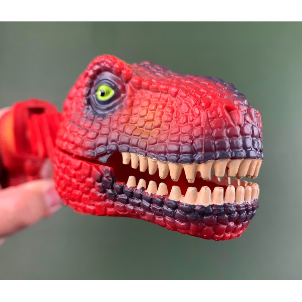 Dinosaur Shark Pecker Telescopic Spring Manipulator Clip Creative Decompression Tricky Toy