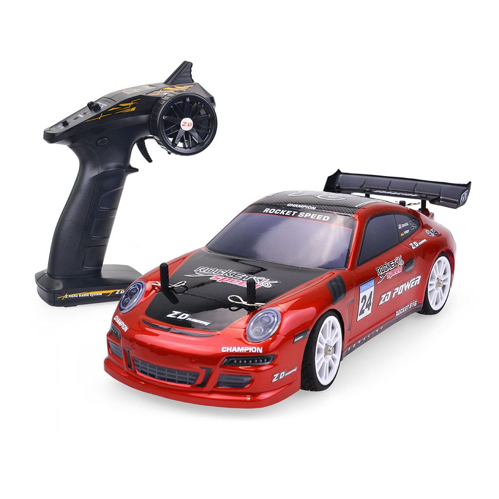 ZD 1/16 2.4G 4WD Racing ROCKET S16 Brushless Flat Sports Drift RC Car Vehicle Models