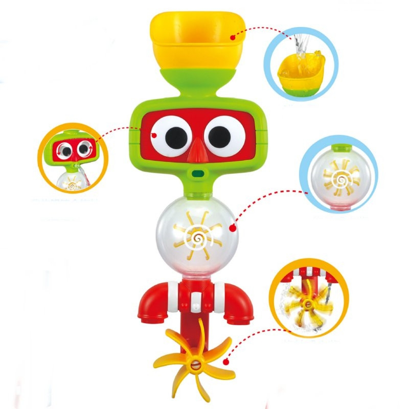 Portable Bath Water Sprinkler System Toy Children Lovely Play Toy