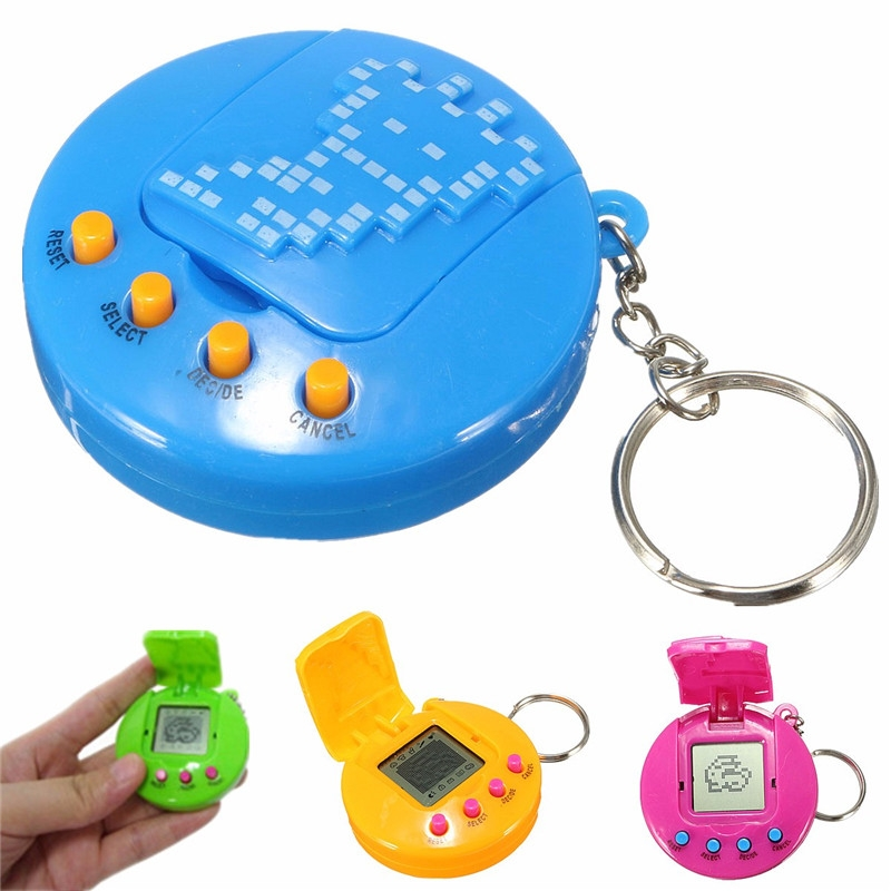 Retro Virtual 49 in 1 Cyber Pets Animals Toy Game Machine Kids Gift