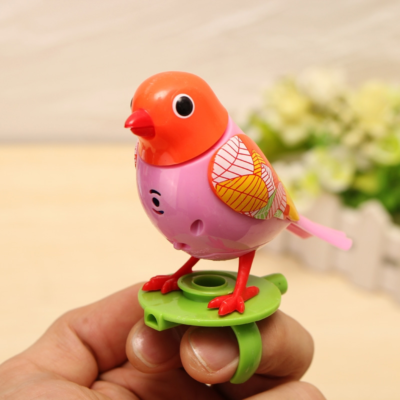 Voice Birds Whistles Induction Companion Bird Children Toys Random Color