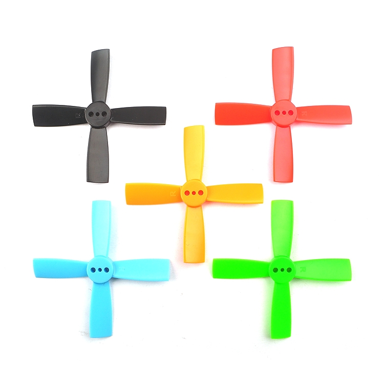 10 Pairs Racerstar 2035 50mm 4 Blade ABS Propeller 1.5mm Mounting Hole For 80-110 FPV Racing Frame