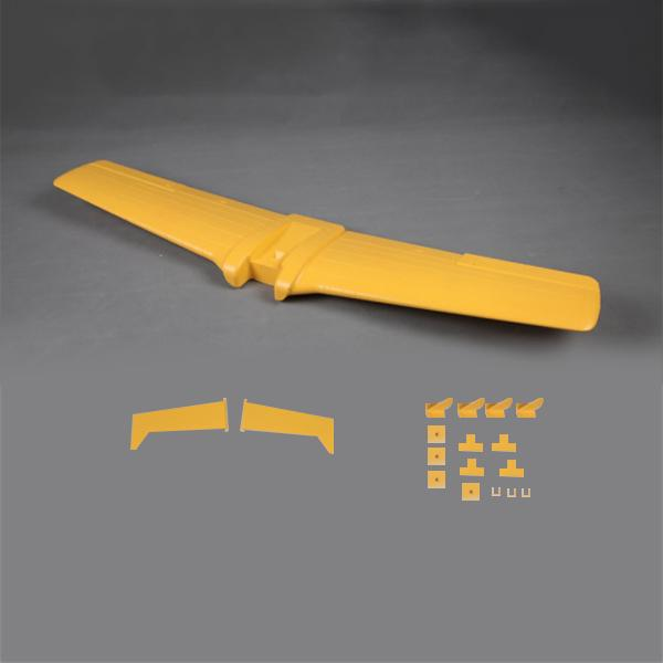 Eleven Hobby T-28 Trojan 1100mm Yellow RC Airplane Spare Part Main Wing Set