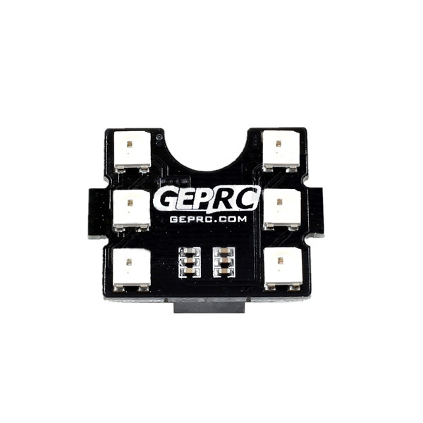 GEP-LED6-B 6 Bit WS2812B Tail LED Circuit Board With BUZZER for Racing Drone GEP-AX GEP-IX