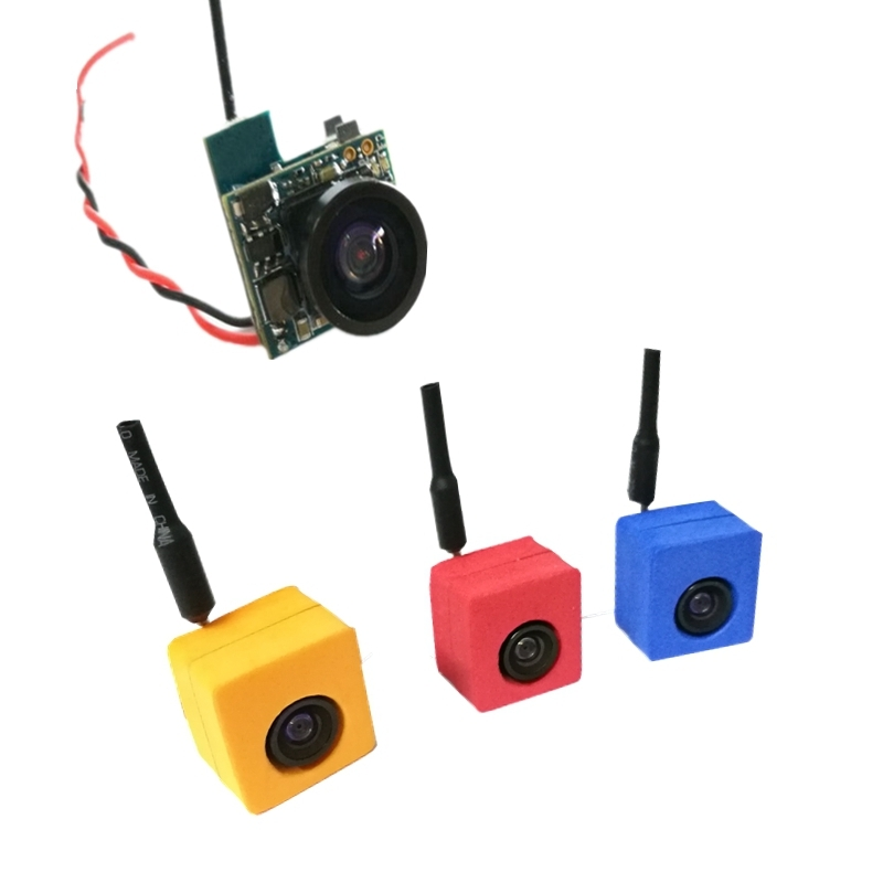CM275T 5.8G 25mW 48CH 600TVL 120 Degree AIO FPV Mini VTX-Camera Transmitter CAM NTSC PAL Switchable