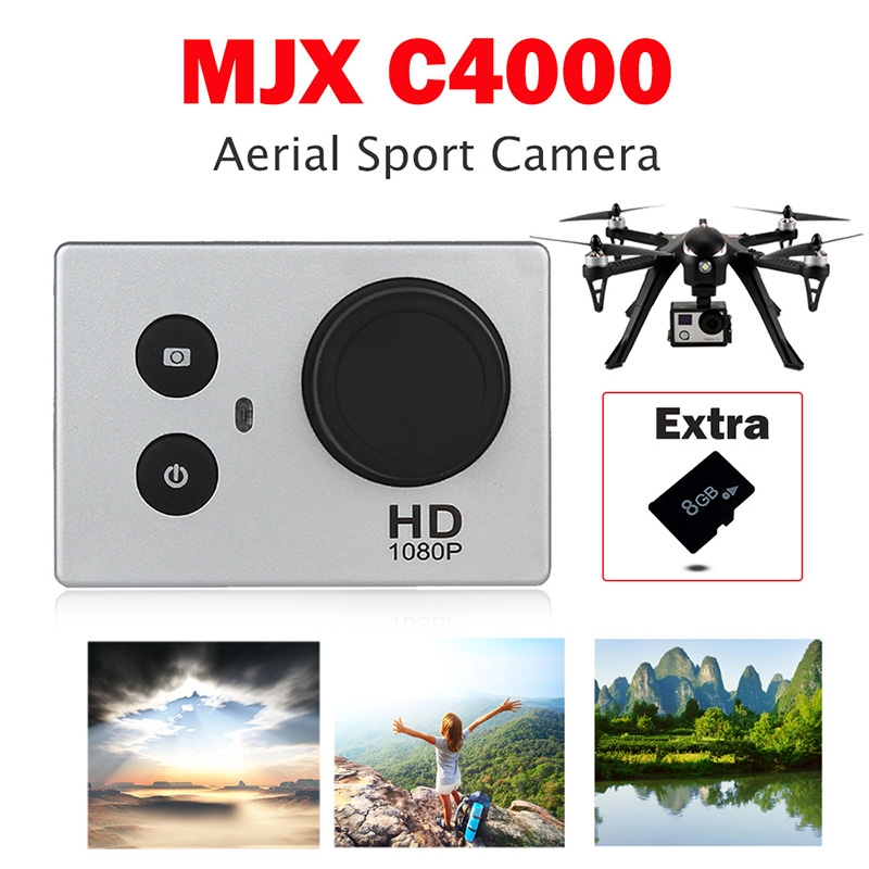 MJX C4000 Aerial Sport Action Camera 1080P For MJX Bugs 3 RC Quadcopter