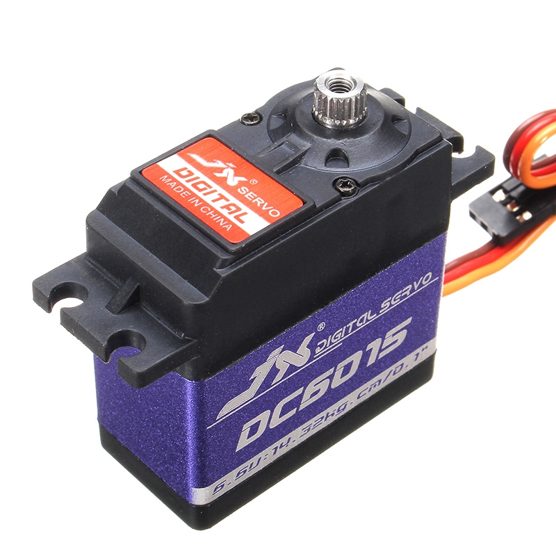 JX DC6015 DC Digital Servo Standard Angle For RC Model Transsmitter Radio