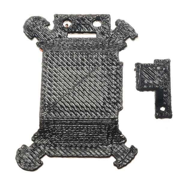 Gimbal Shock Absorption Board Plate Bracket Hanging Mount 3D Printed for DJI MAVIC PRO