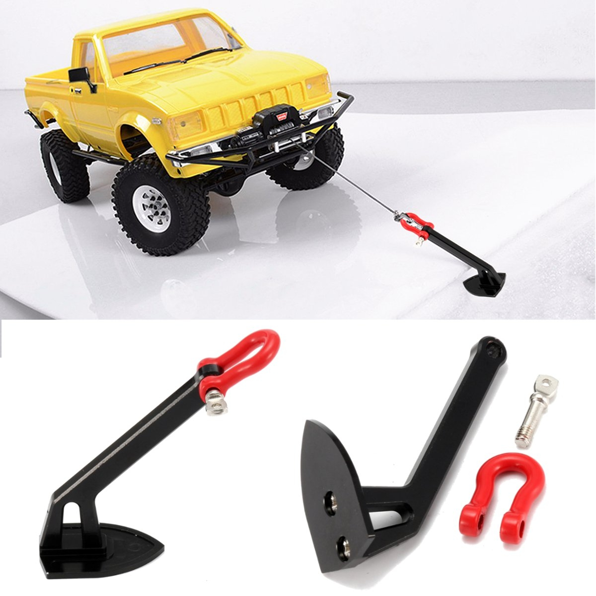 1/10 Scale Truck Heavy Winch Anchor RC Rock Crawler Car Part Accessories