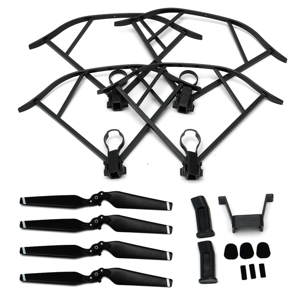 Heightened Landing Gear + Protector Guard + Propellers Blade Set For DJI Mavic Pro