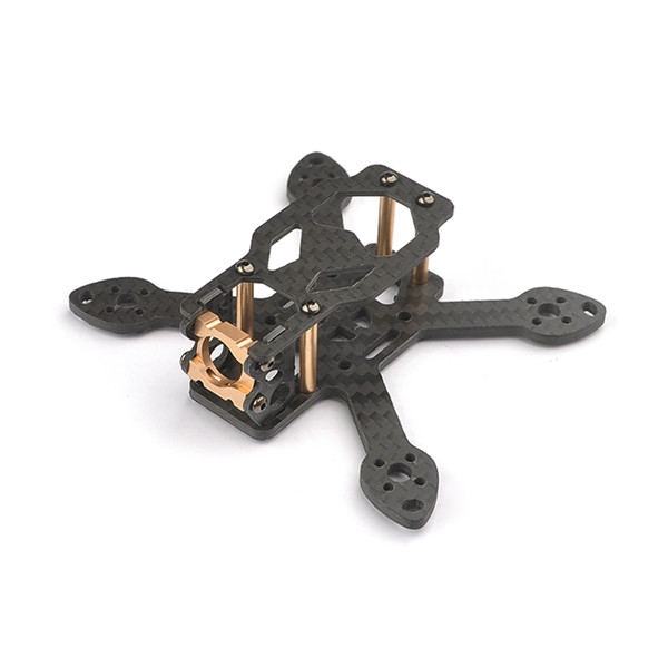 Happymodel Toad90 90mm Micro FPV 3K Carbon Fiber Frame Kit with CNC Aluminum Camera Mount