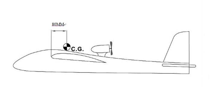 Sky Surfer X9-II 1420mm Wingspan FPV Aircraft Glider RC