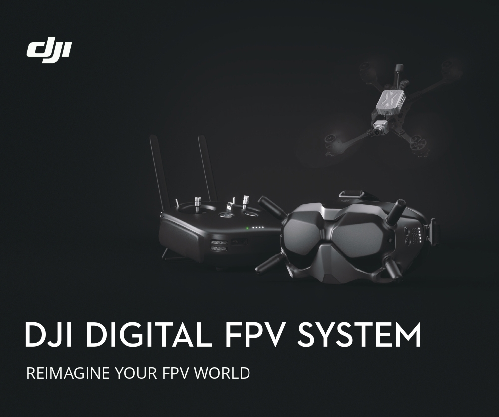 DJI Digital FPV System Air Unit 5 8GHz 8CH Transmitter HD